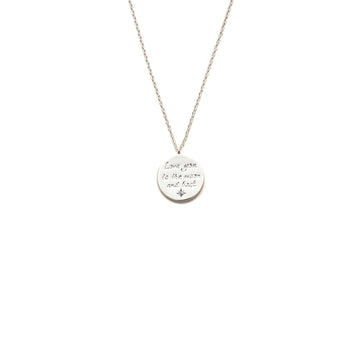 Love You To The Moon And Back Necklace SP