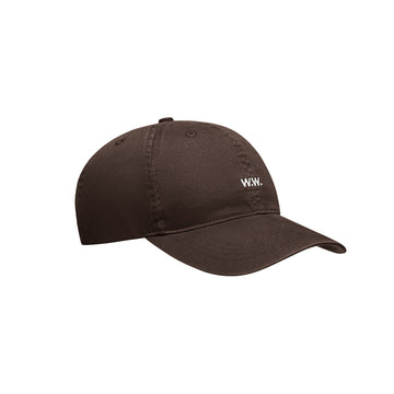 Wood Wood Low Profile Cap Brown OS