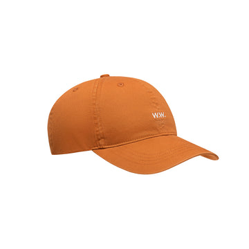 Wood Wood Low Profile Cap Orange OS