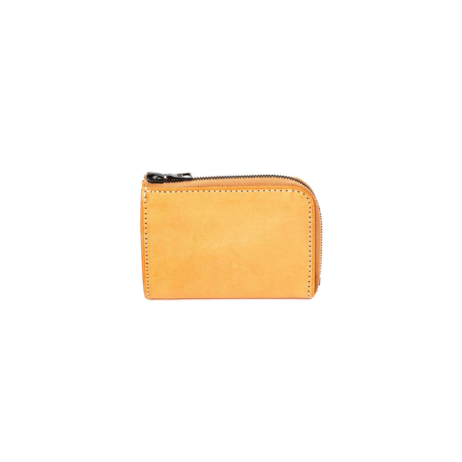 Mini Ziped Wallet Natural/Natural (9.5x6.5x1cm)