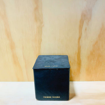 Black Block Candles 7X7 Terre Noire