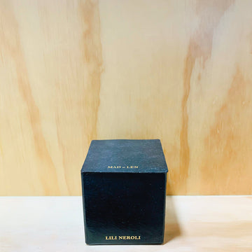 Black Block Candles 7X7 Lili Neroli
