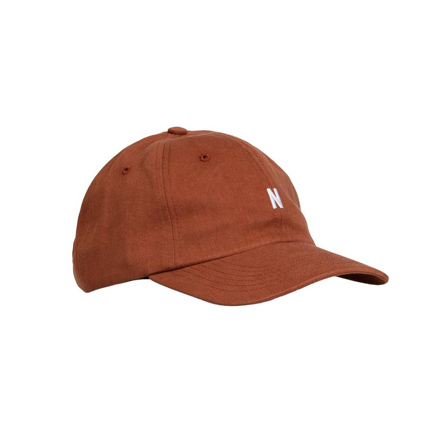 Twill Sports Cap Madder Brown OS