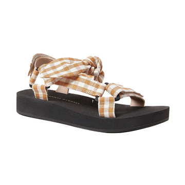 Maisie Sporty Sandal Amber Gingham