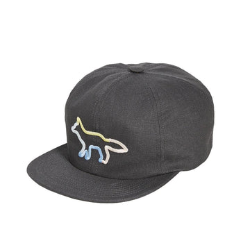 Baseball Cap Rainbow Profile Fox Anthracite