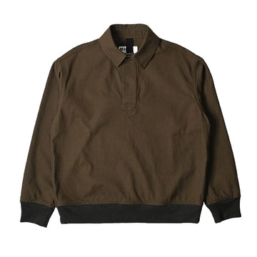 Pull On Polo Workwear Cotton Twill Bark (Men)