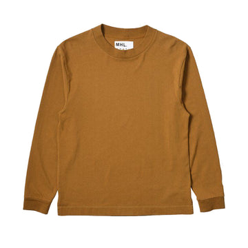 Wide Crew Neck Matte Jersey / Gzz Ochre (Men)