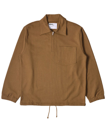 Track Top Dry Loopback Jersey Ochre (Men)