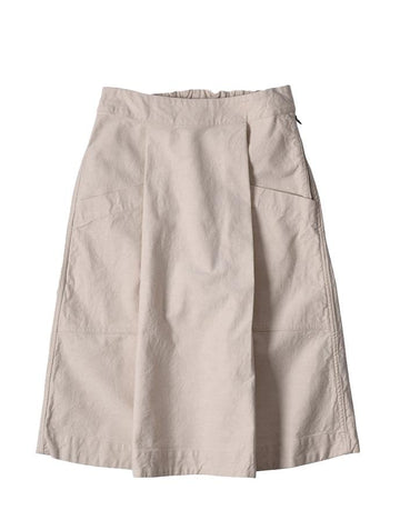 Side Zip Skirt Natural Denim Natural (women)