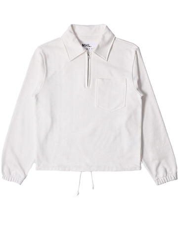 Track Top Dry Loopback Jersey Off White (Women)