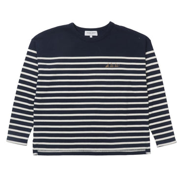 Cool Sailor LS Ohlal Midnight Blue Ivory (Women)