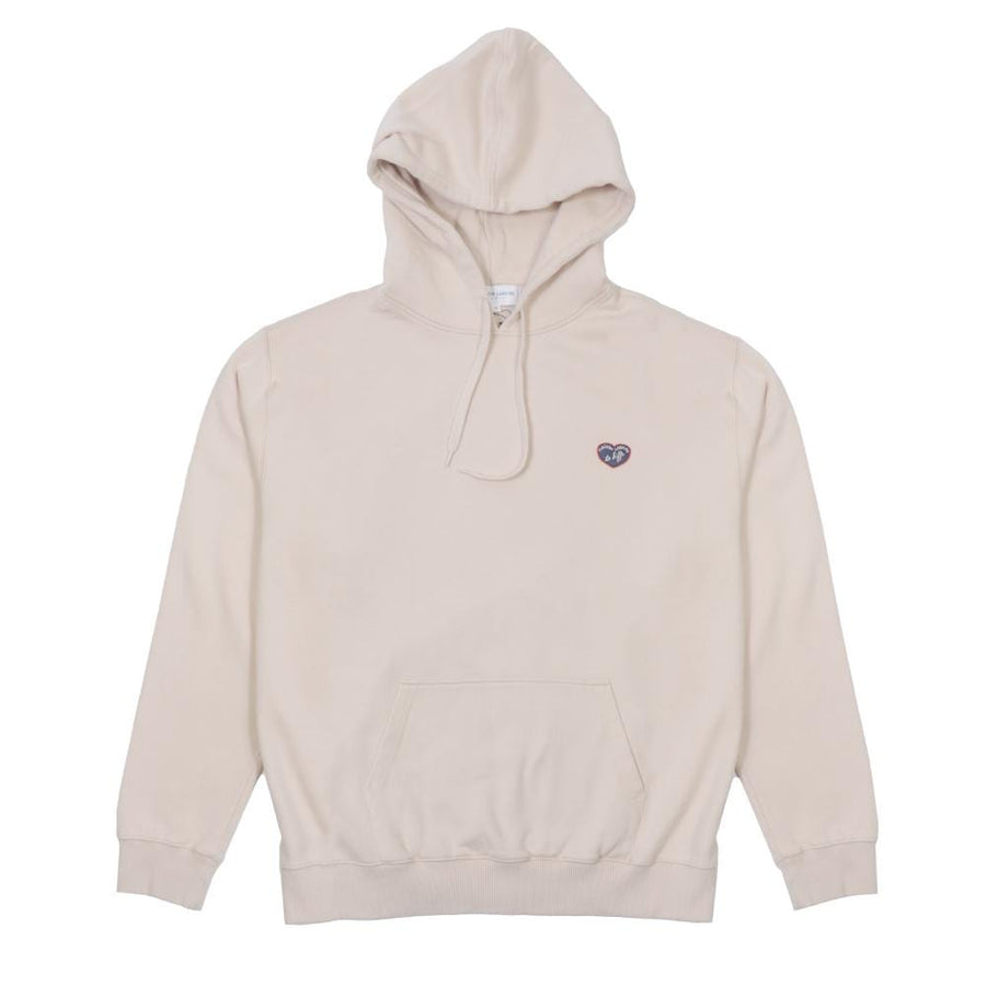 Hoodie Patch Mlb Te Kiffe Beige (Men)