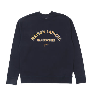 Sweat Classique Maison Labiche Mt. Blue (Men)