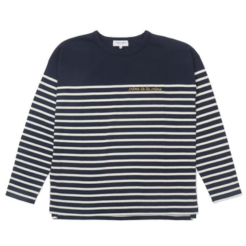 Cool Sailor LS Creme Midnight Blue Ivory (Men)