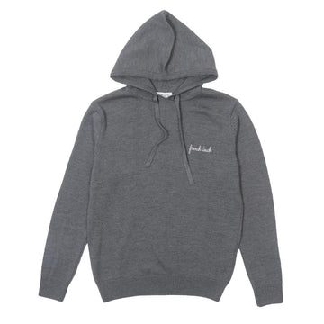 Hoodie Sweater French Touch Dark Grey (Men)