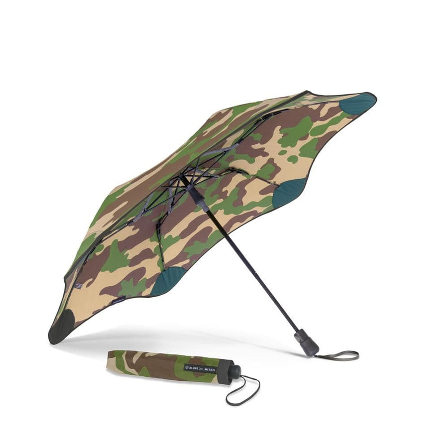 Metro Umbrella Camoflauge Black