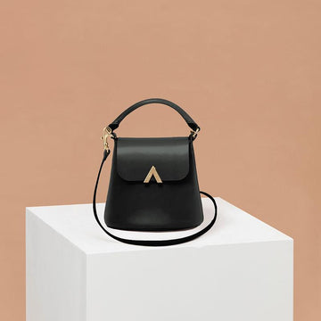 Mini Bell Shoulder Bag Black