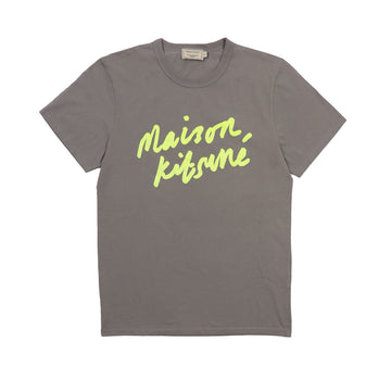 Tee-Shirt Handwriting Dark Grey (Men)