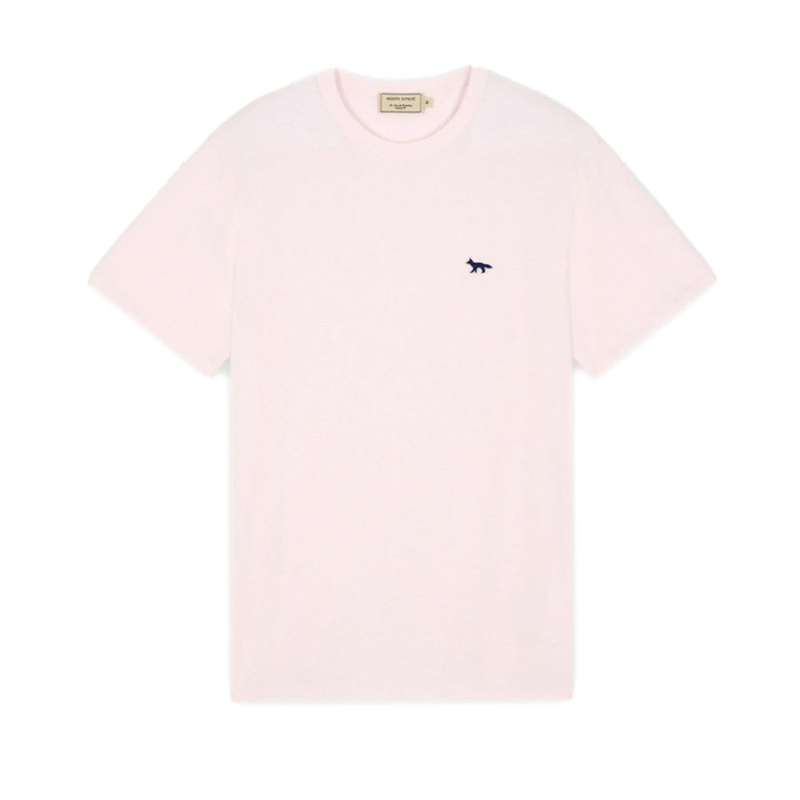 Navy Fox Patch Classic Tee-Shirt Light Pink (men)
