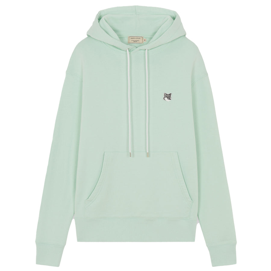 Grey Fox Head Patch Classic Hoodie Mint (unisex)