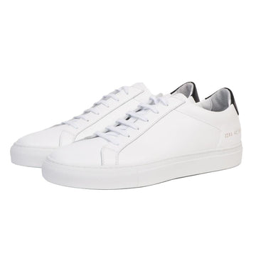 Retro Low White/ Black (Men)