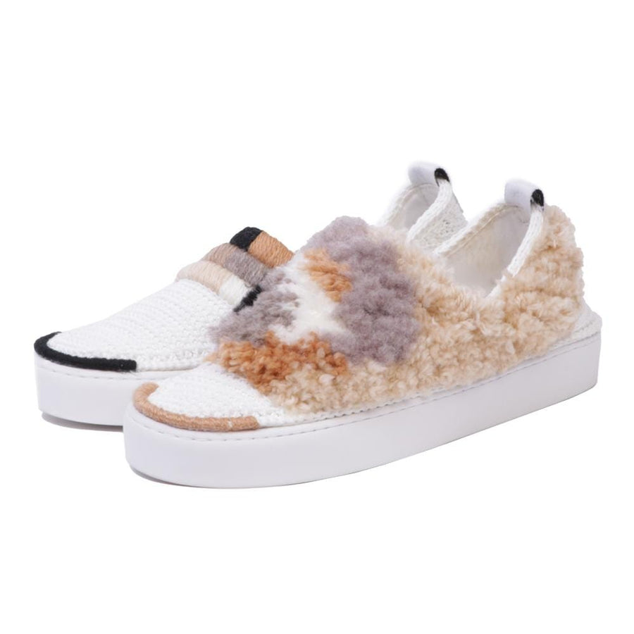 Parisienne Fluffy White