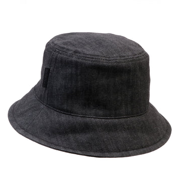 O.N.S x Monocle White Oak Bucket Hat Black
