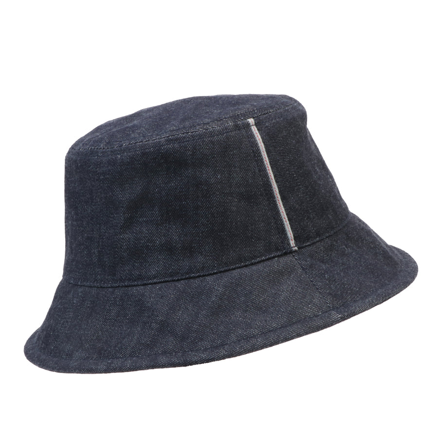 O.N.S x Monocle White Oak Bucket Hat Denim