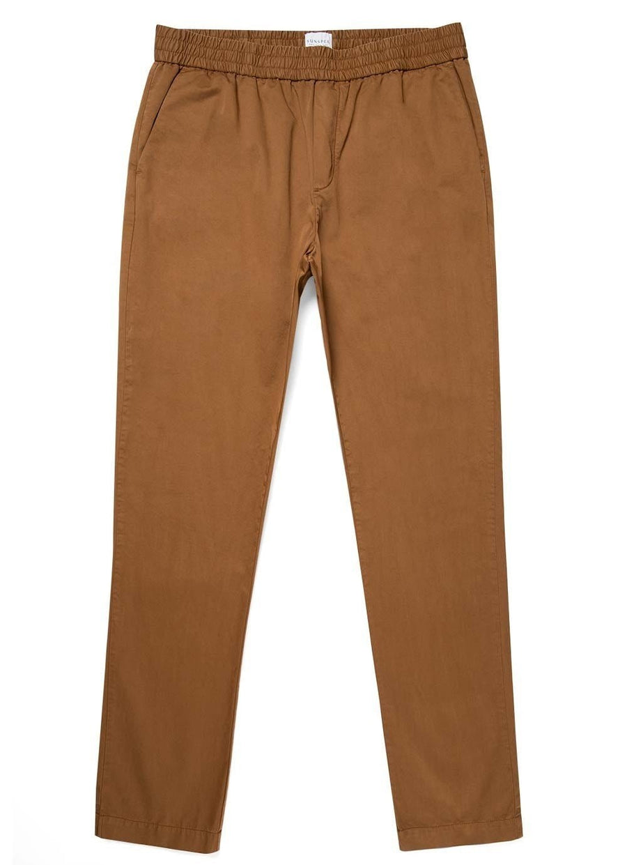 Drawstring Trouser Tobacco
