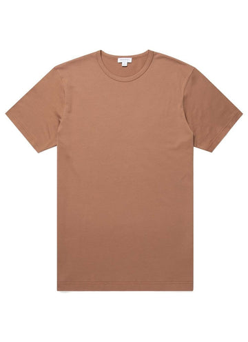 SS Crew Neck T-Shirt Tobacco