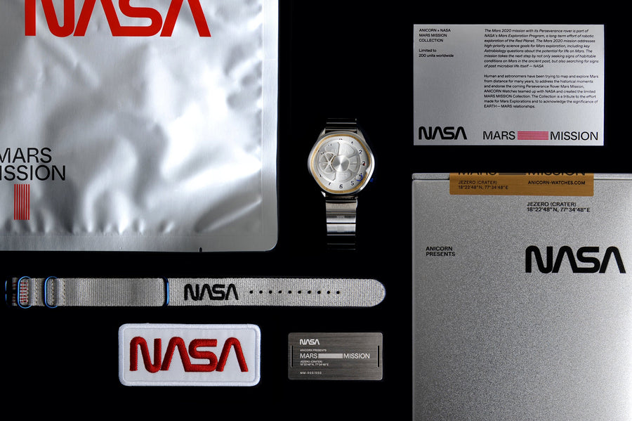 Nasa Mars Mission The Mars Time Automatic Watch