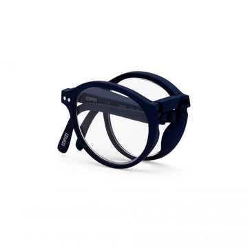 foldable reading glasses #F Navy Blue +1,50