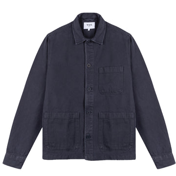 Chet Shirt Navy Heavy Denim