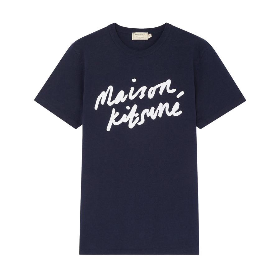 Tee-Shirt Handwriting Classic Navy (men)