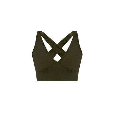 V Bra Army Green
