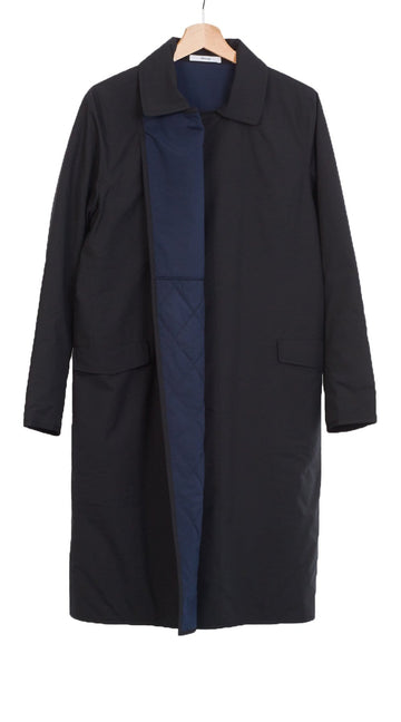 Spencer Coat Navy/Black