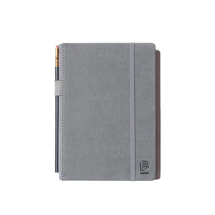 Slate Notebook Medium Grey with Blank paper