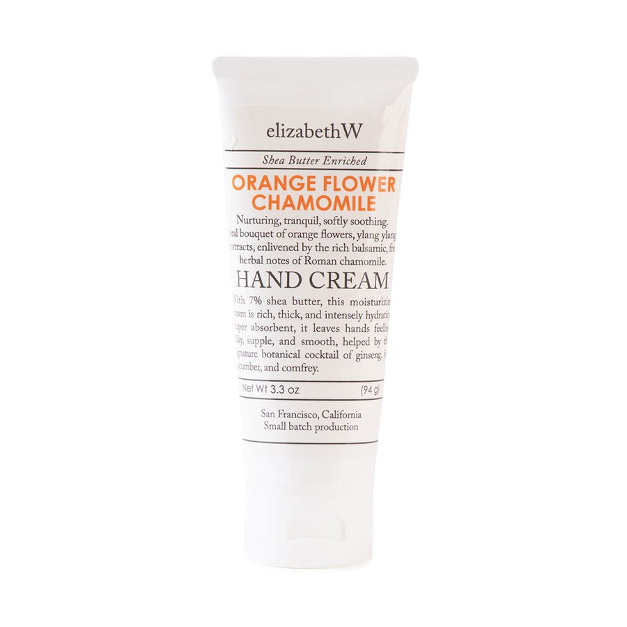 hand cream orange flower chamomile 3.3 fl oz