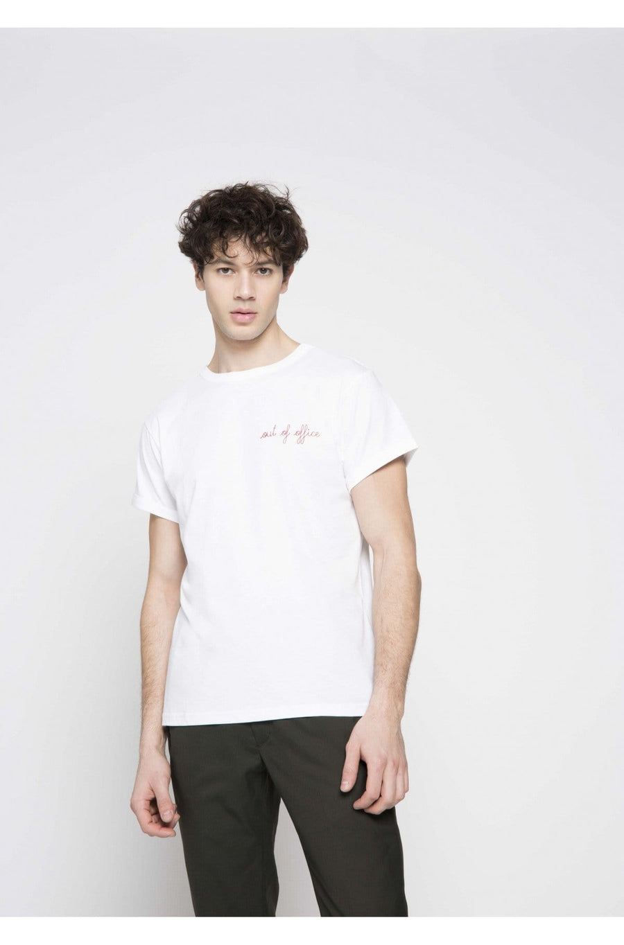 Classic Tee-Shirt Out Of Offic White (men)