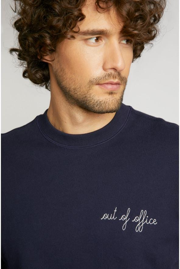 Sweatshirt Out Of Office Eclipse (men)