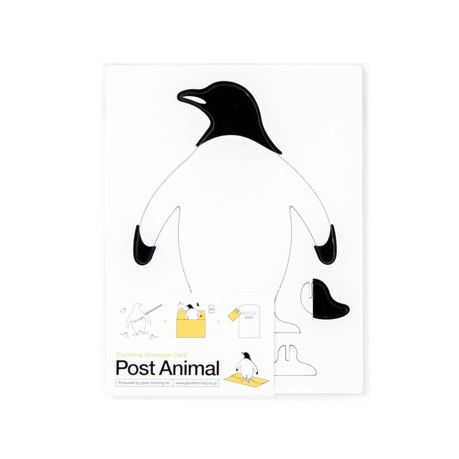 Post Animal Card Penguin