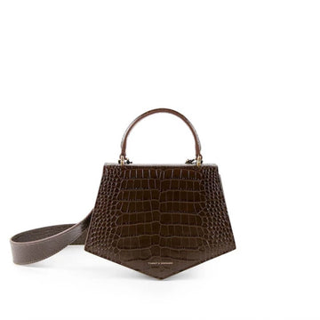 Pentagone 22 Brown Croco