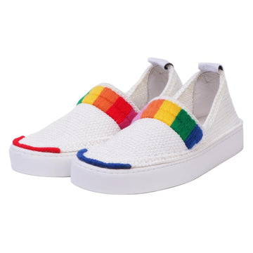Rainbow Shades White