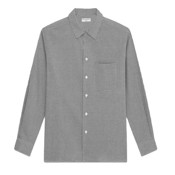 Shirts Regis Overshirt Black/White