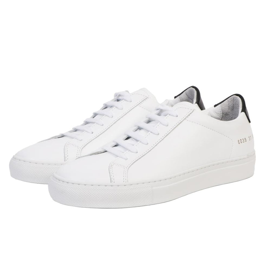 Retro Low White/ Black (Women)