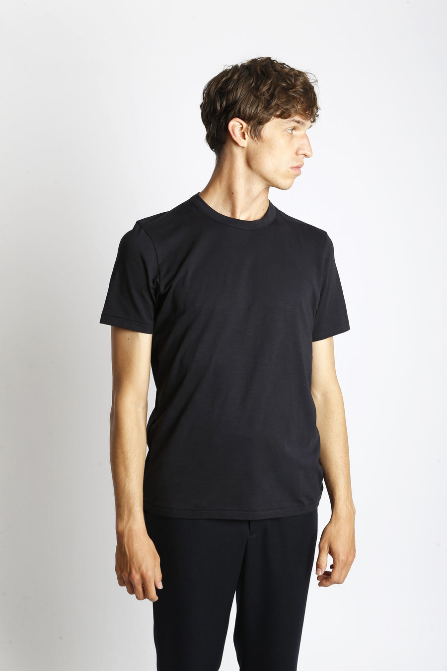 Rodger Bio S/S T-Shirt Navy