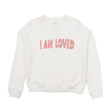 Sweatshirt Molleton Batisti White