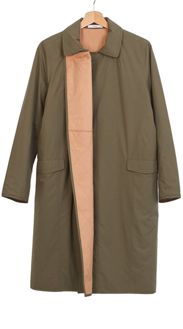 Spencer Coat Khaki/Camel