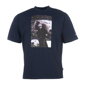 Barbour x Noah Sheep Tee Navy