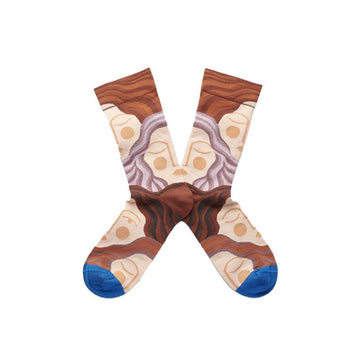 Socks Arabesque Dormeuse Multico (women)